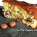Gâteau noix de coco - crunch