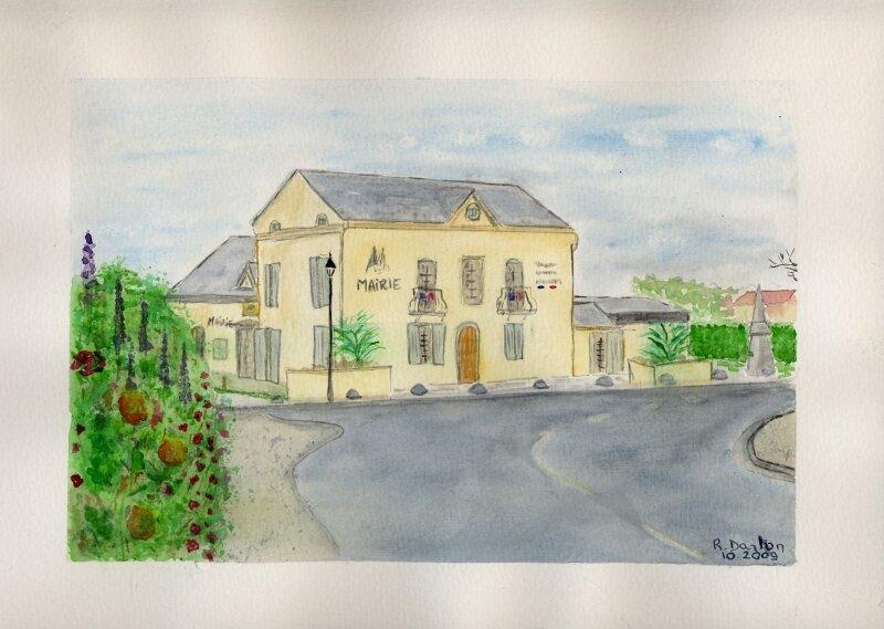 41- Mairie navailles (Polychrome)