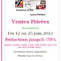 Les invitations pour les ventes privées bientôt disponibles ! rendez-vous le 29 mai