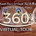 L'église Saint-Pierre et Saint-Paul de Brouage, vitraux de la Nouvelle-France.