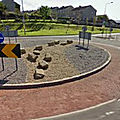 Rond-point à Sligo (<b>Irlande</b>)