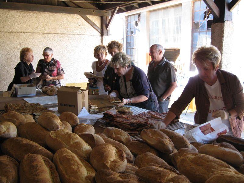 Vente du pain