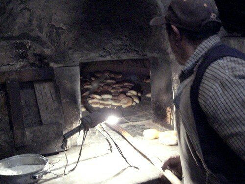 Ollantaytambo, boulangerie