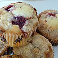 muffin crumble aux framboises