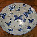 Porcelaines peintes à la main