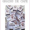 Epingles marimerveille grains de café