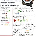 Les recettes d'Iris