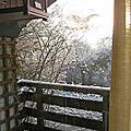 Ce matin il neige -