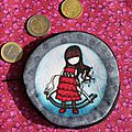 porte monnaie gorjuss rouge