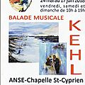 Exposition : denise kehl, balade musicale