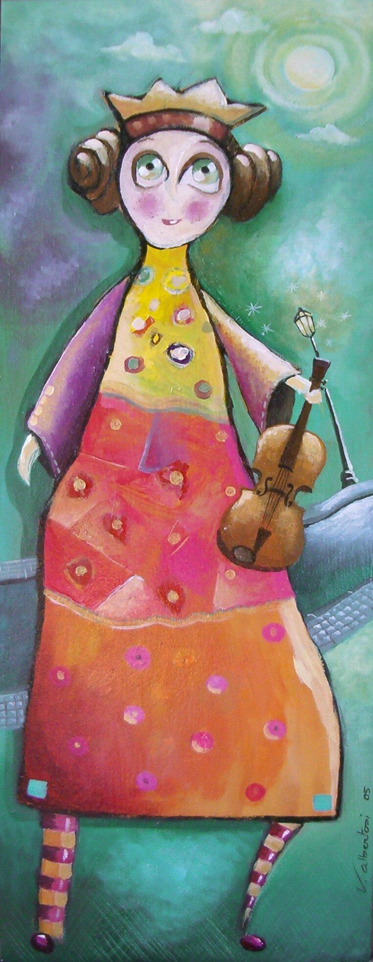 La princesse au violon