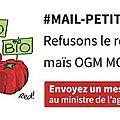 Pétition contre le retour du maïs ogm mon810 en france !