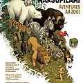 Le marsupilami s'invite au zoo