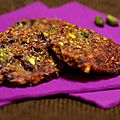Gourmandises chocolat pistaches