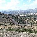 turquie sagalassos route montant au site