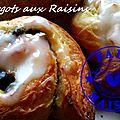 Escargots aux raisins ( au thermomix ou pas )