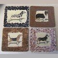 Dogs Coasters