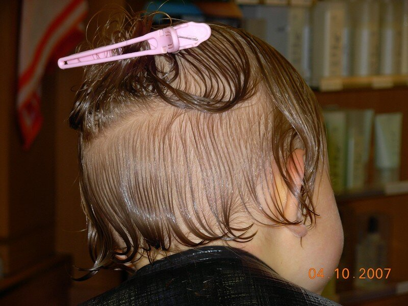 Automne chez le coiffeur