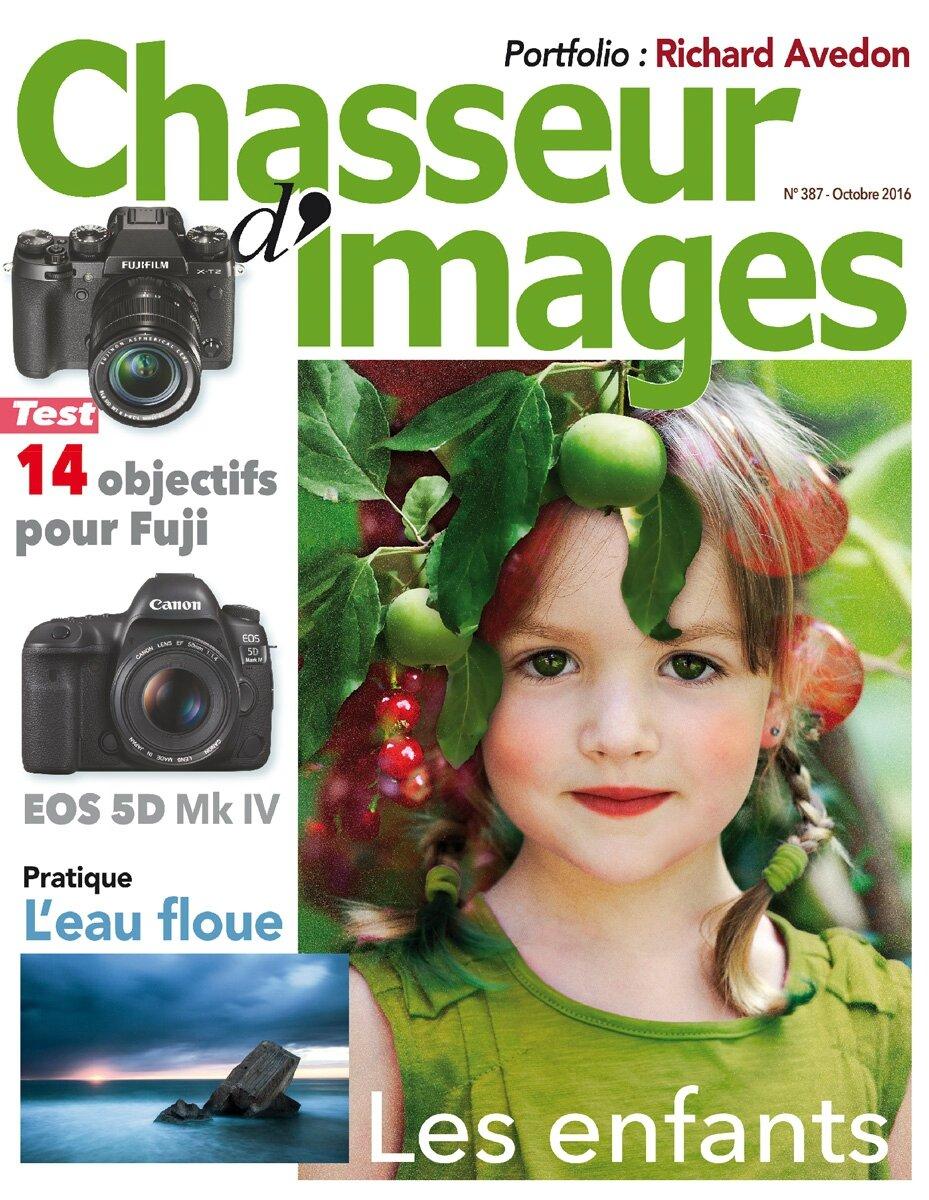 couverture du magazine «Chasseur d'Images» N° 387 Octobre 2016 format de poche