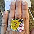 Sun and Flowers bague 10€ VENDUE