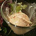 Glace au foie gras.recettes festives #22.
