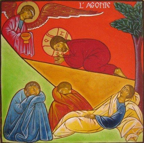 11 L'Agonie de Jésus à Gethsémani