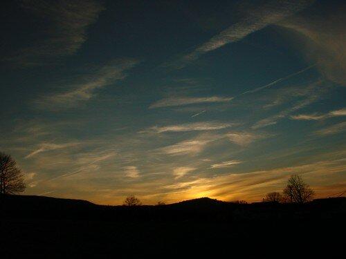 2008 04 07 Le coucher de soleil