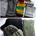 snoods bonnets mitaines Ghislaine