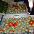 Confiture de tomates vertes aux oranges confites