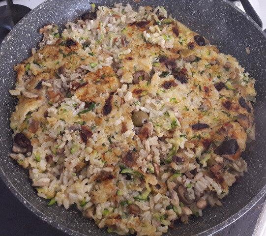 frittata au riz et aux légumes (3)