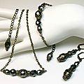 Bijoux mode, accessoires mode, tendance, rétro, vintage, baroque, rock. Ras de cou, sautoir, bracelet, boucles d'oreilles.