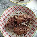 Fondant au chocolat à la compote de pommes (sans beurre)