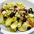 Salade d'hiver méli-mélo