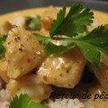 lieu jaune de ligne en curry