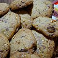 Cookies aux kinder countries ( thermomix)