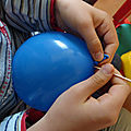 Défi scientifique : percer un <b>ballon</b> sans le faire éclater 2/2