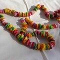 collier LENTILLES crochet