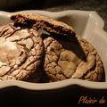 Cookies au chocolat et au caramel