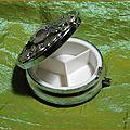 <b>Boite</b> <b>Bijoux</b> Pilulier Elfe Fée labradorite Medieval fantasy Elfique Elven Pill Jewels Box