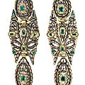 Catalan emerald earrings, <b>late</b> <b>18th</b>-<b>early</b> <b>19th</b> <b>Century</b>