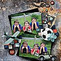 Play with me - kit by Le Petit Scrap
