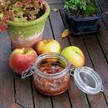 Confiture de pommes façon tarte tatin