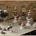 Bougies de l'Avent 2013