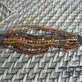 Bracelet 10 rangs perles diverses - création personnelle