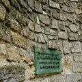 Vestiges d'une des tours de l'enceinte Nord de Paris construite sous le règne de Philippe Auguste.