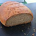 Votre pain complet bio maison ( sans machine à pain )