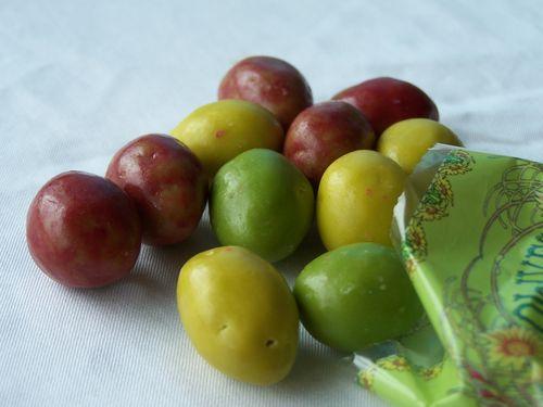 Carcassonne-olives en chocolat