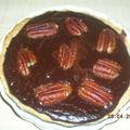 Tartelette chocolat-pécan-cannelle