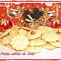 Sablés de <b>Noël</b> avec ou sans presse à <b>biscuits</b> ...