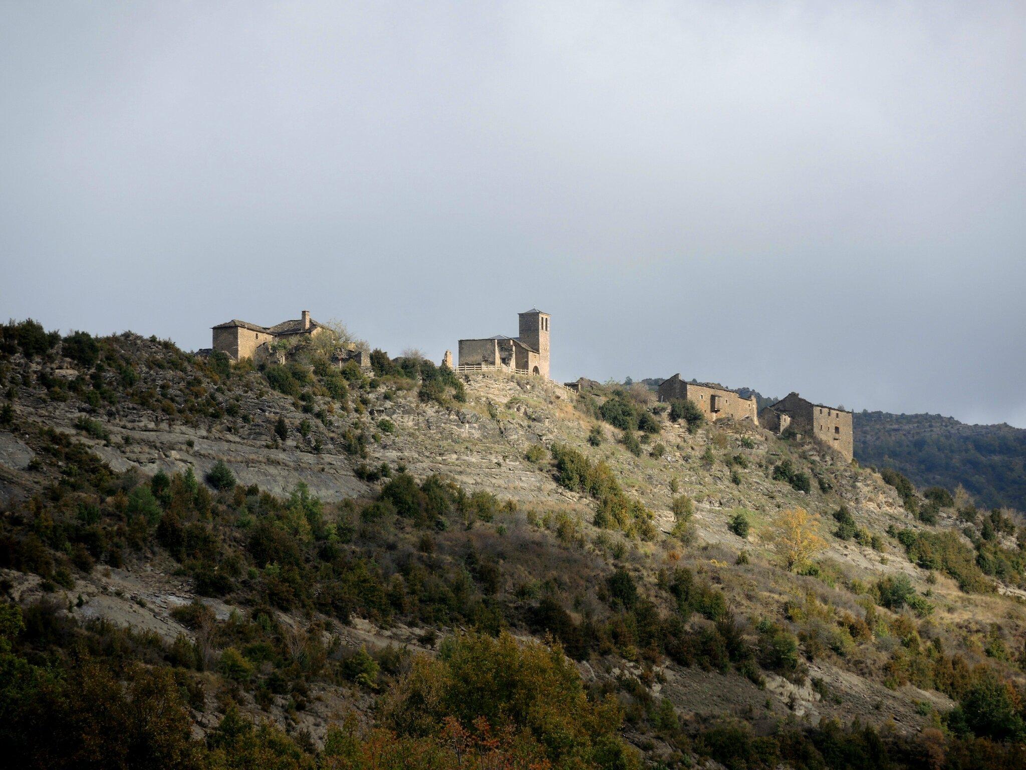Lusera, village (Espagne)